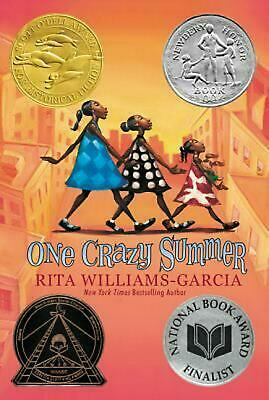 One Crazy Summer by Rita Williams-Garcia (English) Paperback Book Free Shipping!