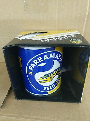 NRL Parramatta Eels Logo Coffee Mug - Jersey Football FREE POST