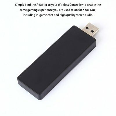Wireless Adapter PC Receiver for Microsoft XBOX ONE Work for Windows 7/8.1/10 NW