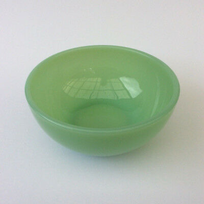 "Vintage Fire King Plain Mixing Bowl 5"" Jadeite Green Pyrex Glass Anchor Hocking"