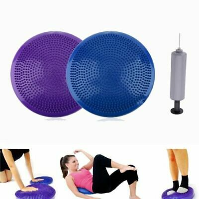 Yoga Inflated Stability Wobble Cushion Round Balance Disc Seat Balance Cushions