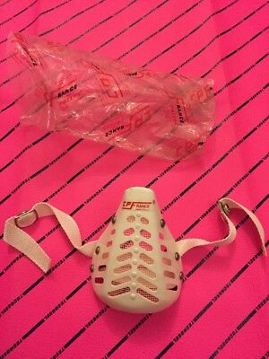 Vintage Motocross Face Mouth Cover Mask Guard Cp France Other Colours Available