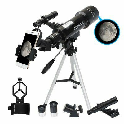 Refractor Astronomical Telescope Optical Prism W/ Tripod &Phone Adapter US STOCK