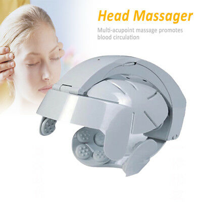 Electric Head Vibration Massager Brain Massage Relax Easy Acupuncture Points New