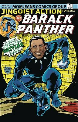 Barack Panther #1 (03/10/2018) Nm
