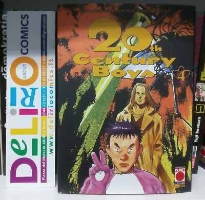 20th CENTURY BOYS N.4 Ed.PLANET MANGA SCONTO 10%