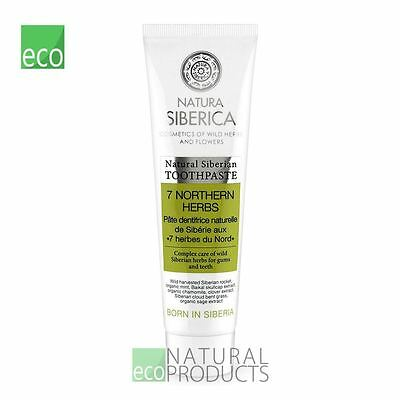 Natura Siberica Natural Siberian Toothpaste 7 Northern Herbs 100g