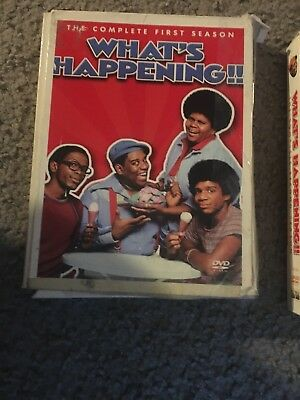 Whats Happening - The Complete First and Second Season (DVD, 3 dvd def)
