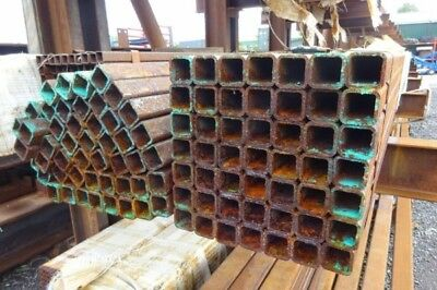 25 x 25 x 2.5mm Box Sectio 7.600mtr of 25mm x 25mm x  2.5mm Steel Box Section