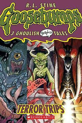 Terror Trips by R.L. Stine (English) Paperback Book Free Shipping!