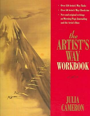The Artist's Way Workbook by Julia Cameron (English) Spiral Book Free Shipping!