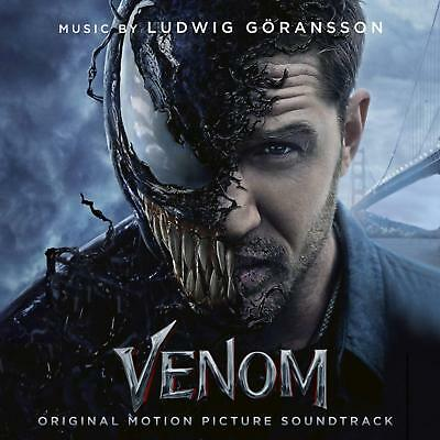 Venom Soundtrack Import by Ludwig Göransson Sony Audio CD FREE SHIPPING NEW