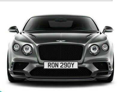 RON 29OY number plate