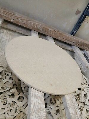 USED KILN BAT 12 5/8 INCHES 32cm ROUND CERAMIC KILN BAT THESE ARE USE AND HALFS