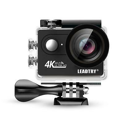LeadTry HP7R Full 4K HD Action Camera Wifi, Mini 12MP Underwater Photography ...
