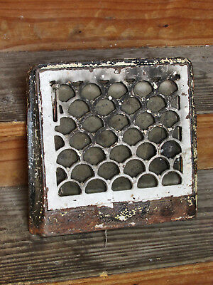Antique Vintage Cast Iron Heating Register Grate Vent Grill Cover Gothic Arches