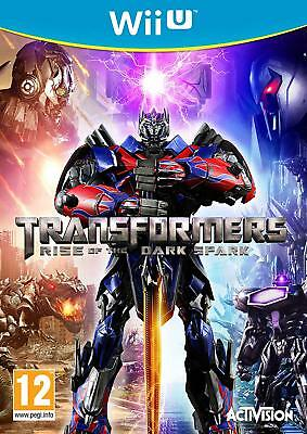 Transformers: Rise of the Dark Spark (Nintendo Wii U) Rare Action Kids Game PAL