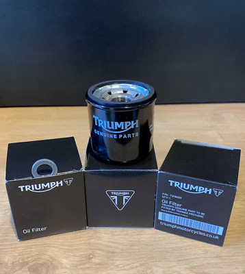 Triumph Oil Filter + Drain Washer All Injection Triumphs