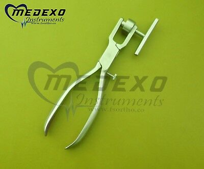 2 PCS Bone Morselizer Mill Crusher Pliers Stainless Implant