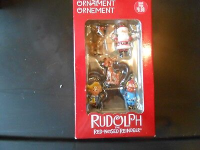 American Greetings Rudolph the Red Nosed Reindeer Miniature Christmas Ornaments