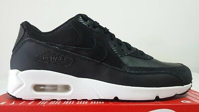 NIKE AIR MAX 90 Ultra 2.0 Ltr Leather Nera N.45 Limited New