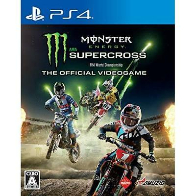 PS4 Monster Energy Supercross - The Official Videogame [NEW] Japan Import