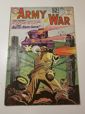 DC Comics Our Army At War Sgt. Rock & Easy Company Silver Age Comics #123