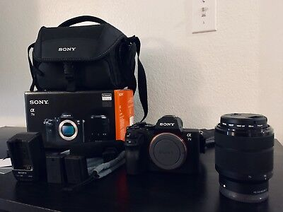 Sony Alpha a7 II (Mint Condition) 24.3MP - Complete Kit. Read Description.