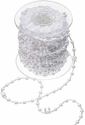 """Vertical Blind Bottom Chain Parts/ Spares 10 Metres Of Top Quality  89Mm (3.5"""")"""