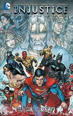 Injustice Gods Among Us: Year Four, Volume 1 by Brian Buccellato (English) Paper