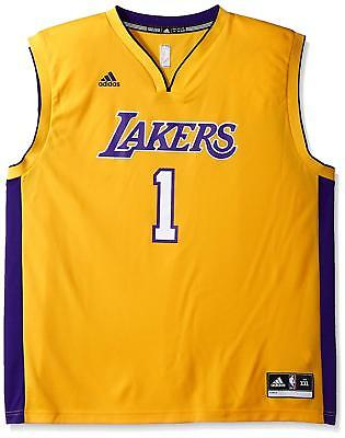 2efd6e71 Nba Los Angeles Lakers D'angelo Russell#1Men's Replica Home Jersey Med *Nwt