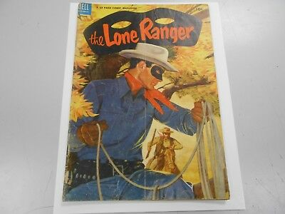 The Lone Ranger #74 (August 1954 Dell) GD/VG 3.0 Golden Age Western Comic