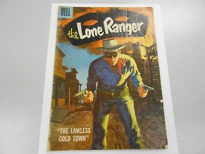 The Lone Ranger #108 (June 1957 Dell) GD 2.0 Silver Age Western Comic