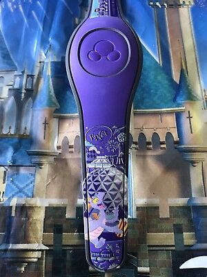 NEW DISNEY PARKS Figment Epcot Disney World Magicband 2 Purple