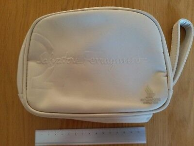 SALVATORE FERRAGAMO SINGAPORE AIRLINE AMENITIES KIT BAG - the only 1 on ebay