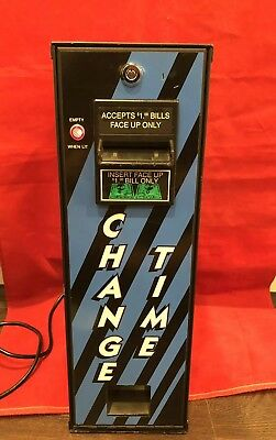 American Changer Change Time Change Machine, Coin Changer $1 Only, CT73 And Key