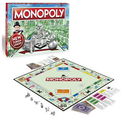 Original Genuine Hasbro Monopoly Classic Edition Traditional Family Game 8 Token