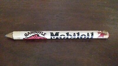Mobiloil Gargoyle old carpenter pencil, very rare