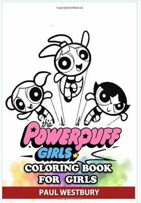 POWERPUFF GIRLS SAVE The Day Coloring Book Golden Books 2000 ...