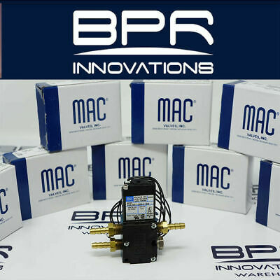 MAC VALVES  4-Port Boost Control Solenoid Valve / Fittings  46A-AA1-JDBA-1BA