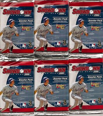2000 MLB Showdown Pennant Run 1st Edition Booster Pack Fact Sealed Wizards TCG
