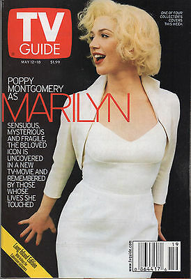 2001 TV Guide Poppy Montgomery as Marilyn May 12-18