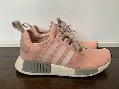 2bc5f79af VNDS Adidas NMD R1 Vapour Pink Onix Grey Offspring BY3059 Size 6 Women s
