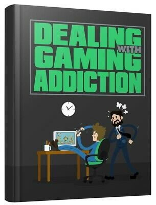 Dealing With Gaming Addiction W/ Master Resell Rights +10 Bonus eBooks MRR PLR