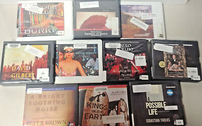 CHRISTIAN AUDIO BOOKS Lot of 10 on CD FREE SHIPPING