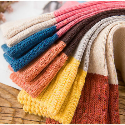 NEW 5 Pairs Womens Wool Cashmere Warm Soft Thick Casual Multicolor Winter Socks