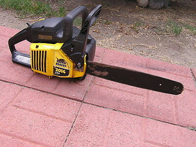 FOR PARTS OR REPAIR ONLY EAGER BEAVER 2014 BY McCULLOCH CHAINSAW NOT RUNNING 2.0