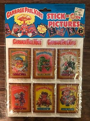 1986 Imperial Topps GARBAGE PAIL KIDS Stick-On Pictures PUFFY STICKERS #2, NEW!