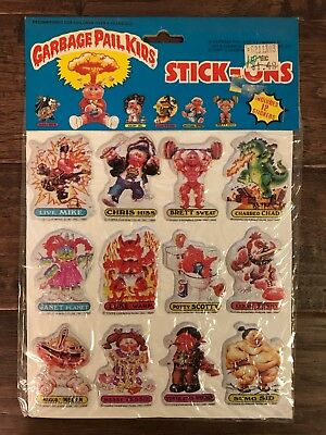 "1986 Imperial (Topps) ""GARBAGE PAIL KIDS"" (Stick-Ons) ""PUFFY STICKERS"" #1, NEW!"