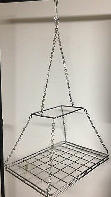 Hanging Pots And Pans Rack, Cast Iron Pot Rack Silver Pot Holder